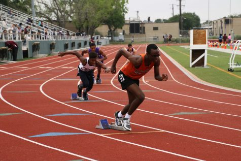 Track and Field Wins Several Titles in District 13-6A Championships