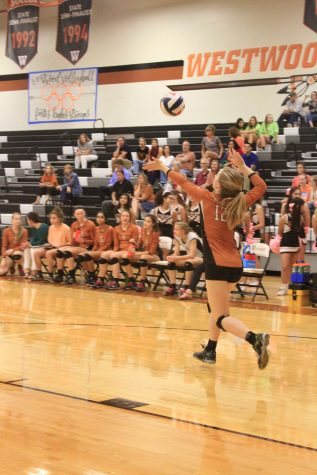 JV Orange Volleyball Defeats Raider in the First Two Sets