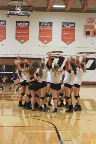 Varsity Volleyball Secures a Spot in Districts