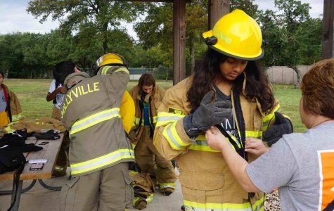 Disaster Response Students Learn Firefighting Skills