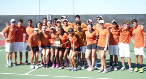 Varsity Tennis Finishes Second at Regionals
