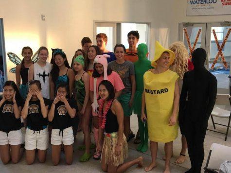 Classes Compete in Annual Swim Distance Challenge
