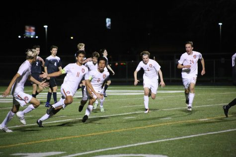 Rodriguez, Vrudhula Lead Varsity Boys' Soccer To Victory Over Vandegrift