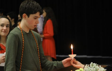 New Spanish Honor Society Members Attend Induction Ceremony