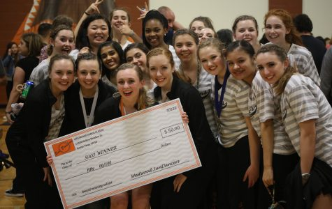 Dancers Compete at Annual Westwood Dance Classic
