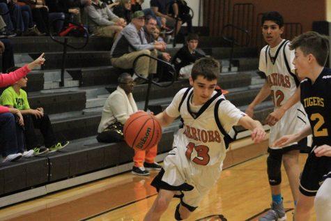 GALLERY: Freshman White Boys' Basketball Hold Off Stony Point 48-37