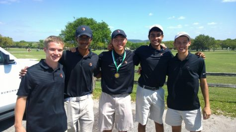 Boys' Golf Wins Titles in Last Regular Season Tournament