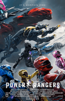 'Power Rangers' Blasts Through Cinema Ratings