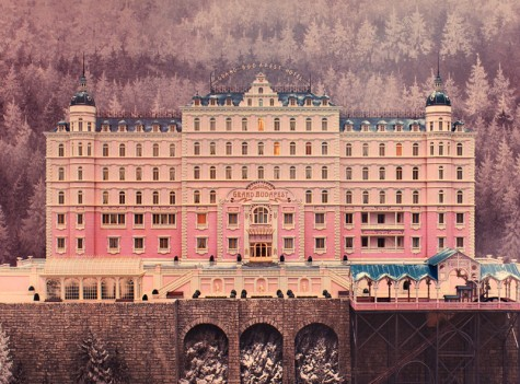 A Wonderful Check-in at The Grand Budapest Hotel