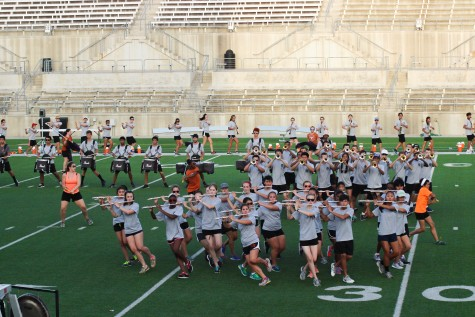 Band Marches into Fall