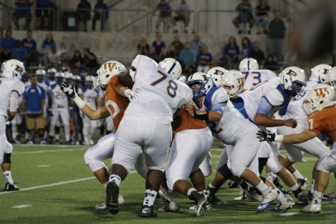 Warriors Mauled by Pflugerville Panthers