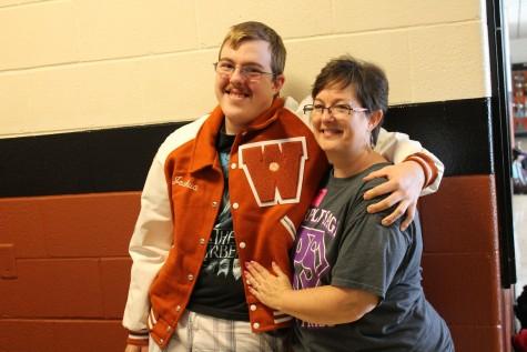 Special Olympics Athlete Receives Varsity Jacket