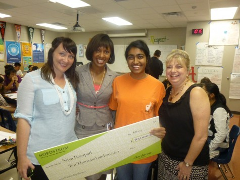 Student Wins $10,000 Nordstrom Scholarship