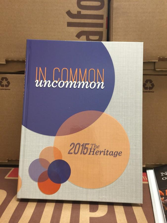 2015 Heritage to be Distributed on Thursday, May 7