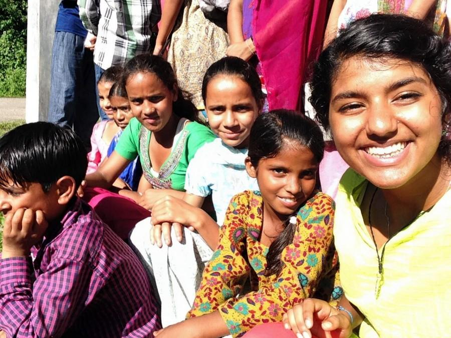 Student Spends Summer on Service Trip to India