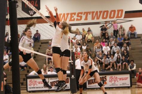 Varsity Volleyball Defeats Rouse 3-1