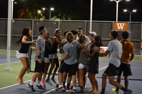 Varsity Tennis Wins Area