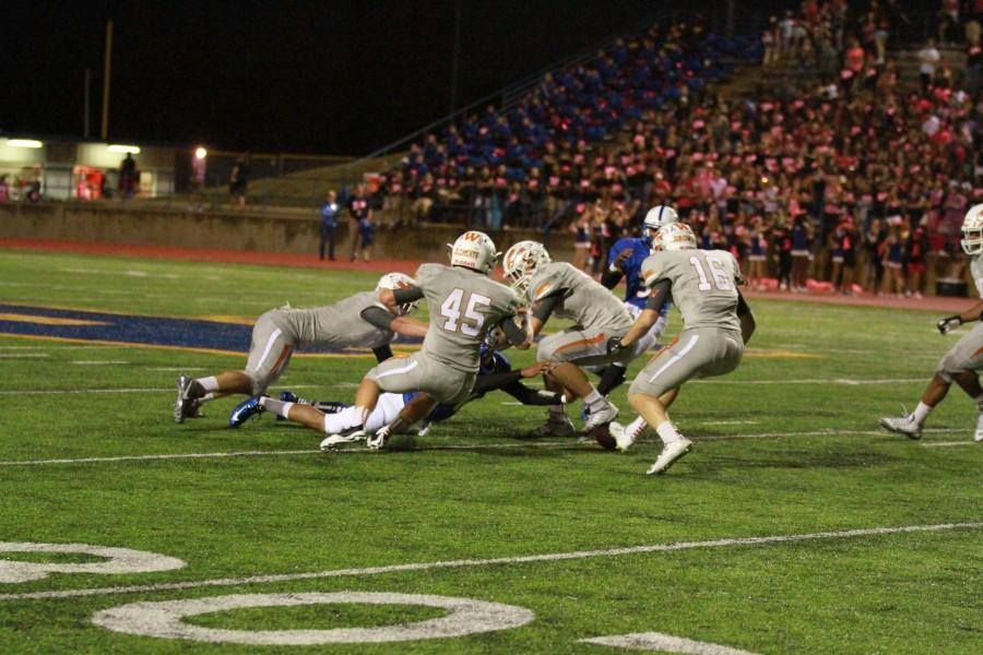 Warriors Defeated 14-27 by Pflugerville Panthers