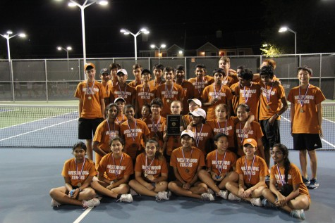 JV Tennis Wins District