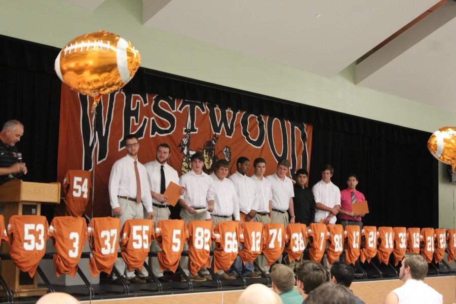 Football Team Celebrates Season with Banquet