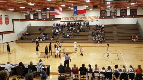 Girls' Varsity Basketball Defeats Cedar Park 42-34