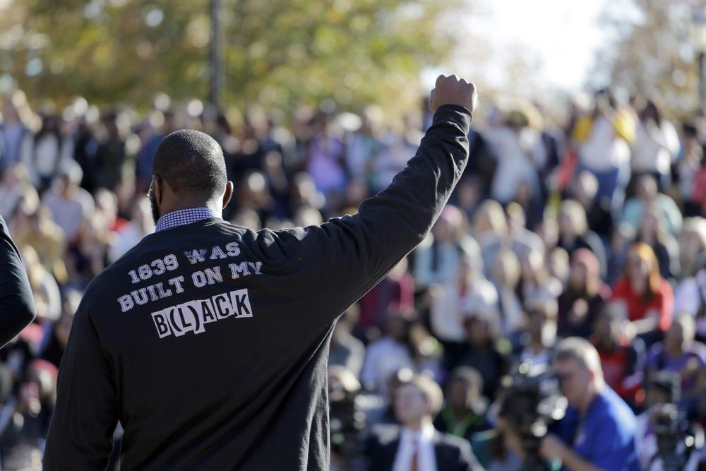 Credit: AP Photo/Jeff Roberson, File, University of Missouri protests