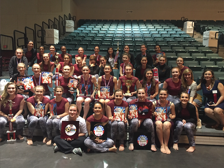 SunDancers Compete at Moody Gardens
