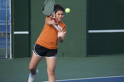 Freshman Tennis Resumes Connally Tournament