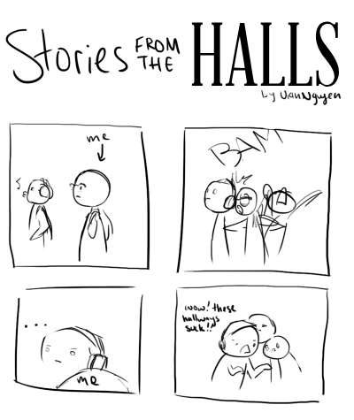 COMIC: Stories From the Halls