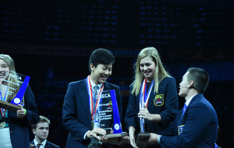 Caitlin Smith '16 Wins Big at International DECA Conference