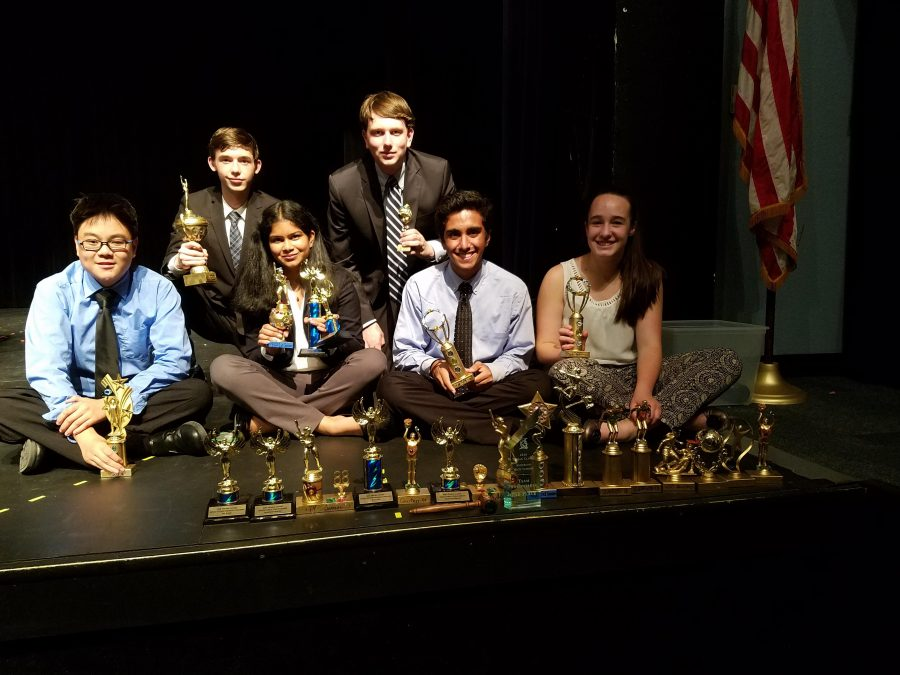 Debate Wins Big at Anderson HS Tournament