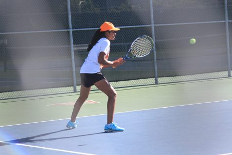 JV Orange Tennis Triumphs Over Westlake Chaps