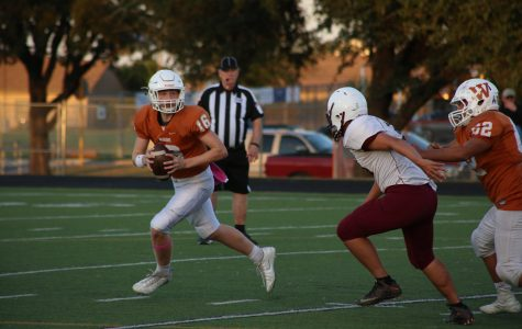 JV Football Comes Up Short Against Round Rock Dragons