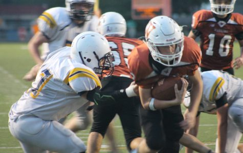 Freshman Football Faces Tough Loss Against Stony Point