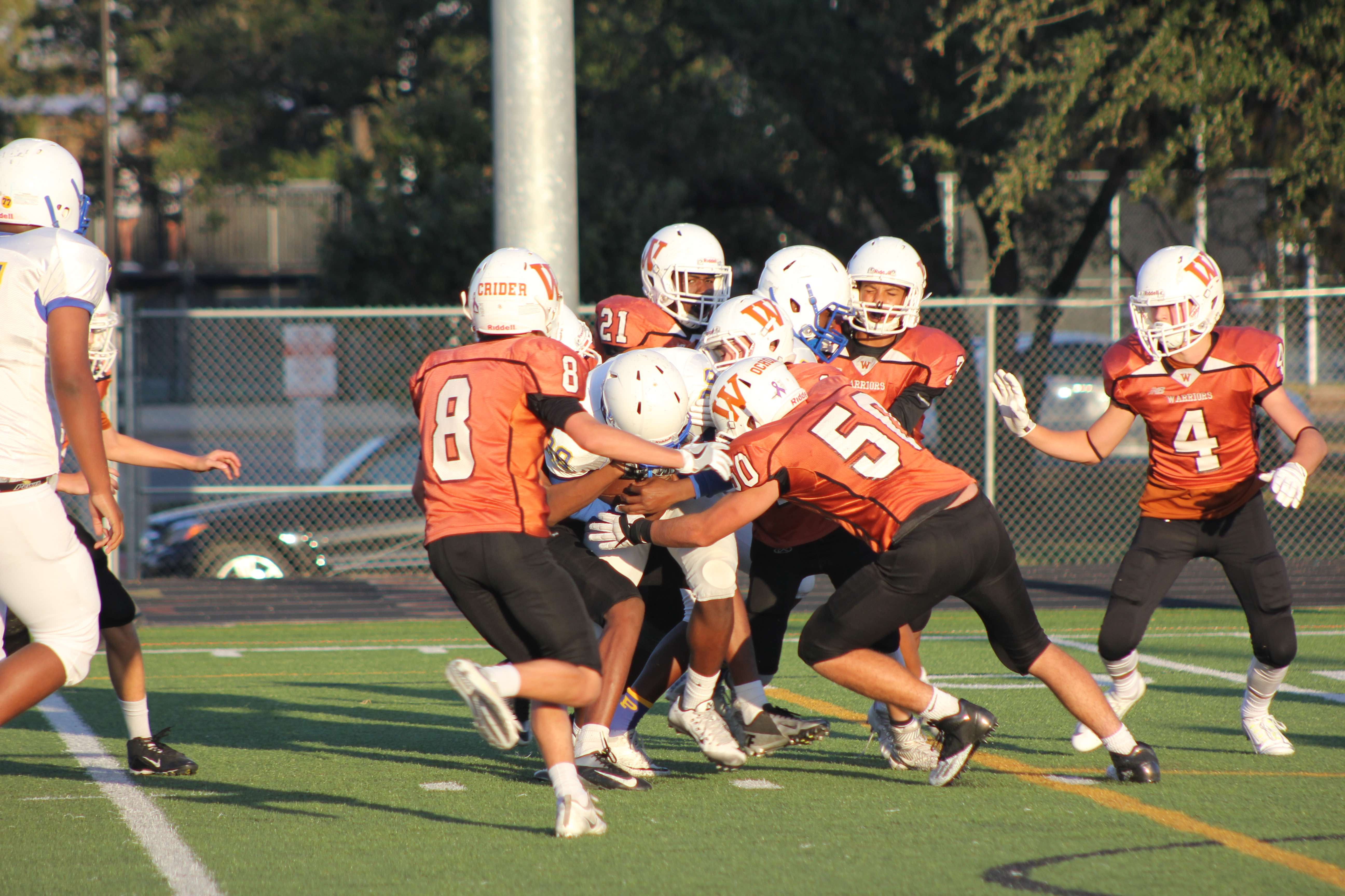 Freshman+Football+Suffers+22-44+Defeat+by+Pflugerville