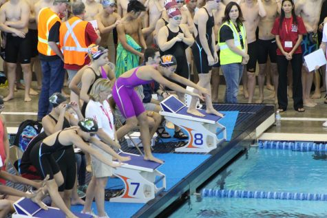 GALLERY: Swim Team Competes at TISCA Meet