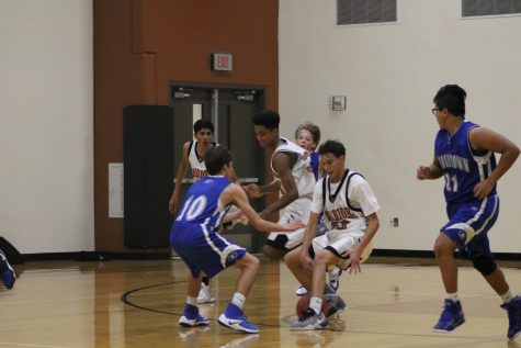 GALLERY: Freshman White Boys' Basketball Wins Against Georgetown
