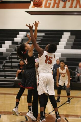 Varsity Girls' Basketball Plays Strong Defensive Game Against Bowie