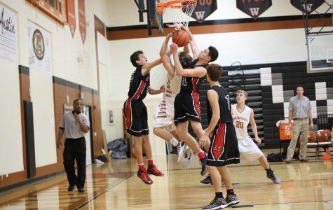 JV Boys' Basketball Suffers Against Lake Travis