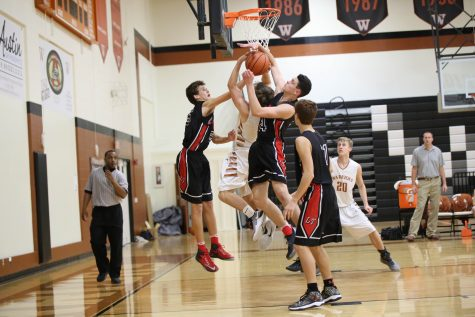 JV Boys' Basketball Suffers Against Lake Travis