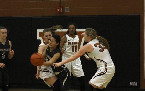 Varsity Girls' Basketball Crush Round Rock in Senior Night