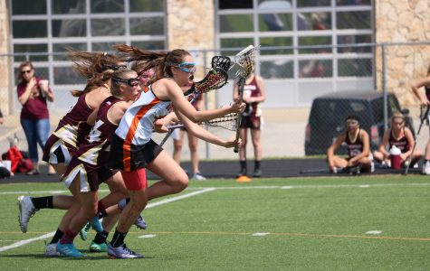Varsity Girls' Lacrosse Demolishes Dripping Springs 18-6