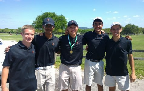 Boys' Golf Wins Titles in Last Regular Season Tournament