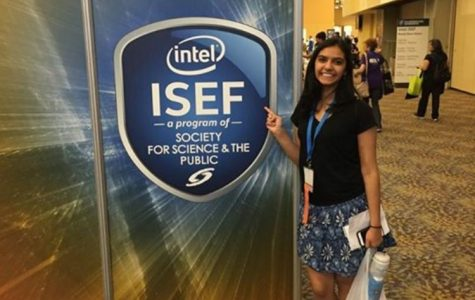 Rucha Joshi '18 Headed to International Science and Engineering Fair