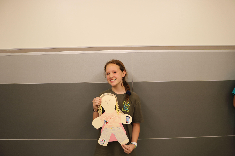 Audrey+Lemen+%2720+presents+her+doll.