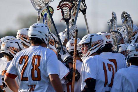 JV Boys' Lacrosse Wins District