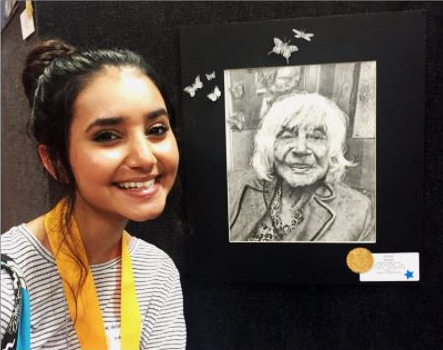 Alisha Rawal '19 Awarded Gold Seal for Artwork