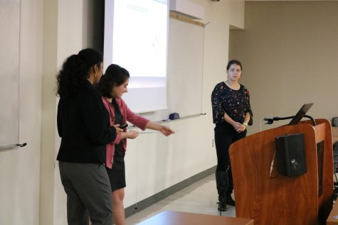 Engineering Seniors Present Capstone Project