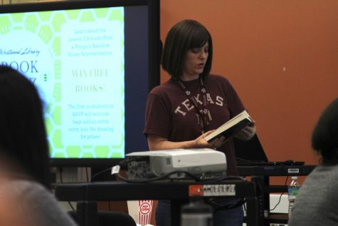 Library Hosts Book Buzz