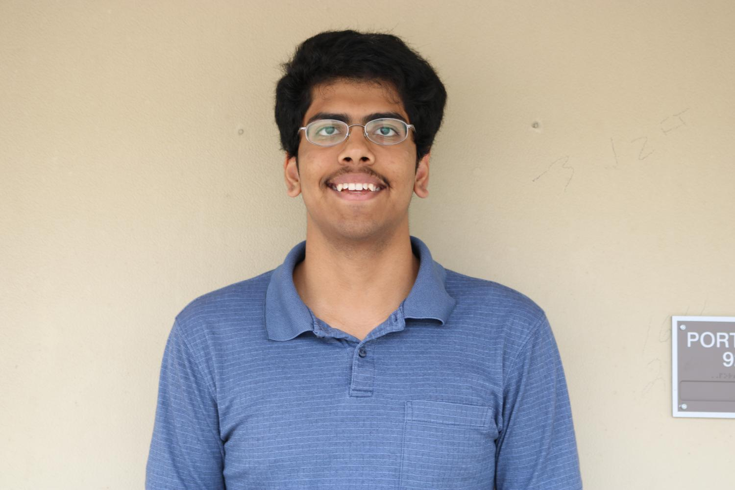 Aditya Parulekar '18 Selected to U.S. Physics Team